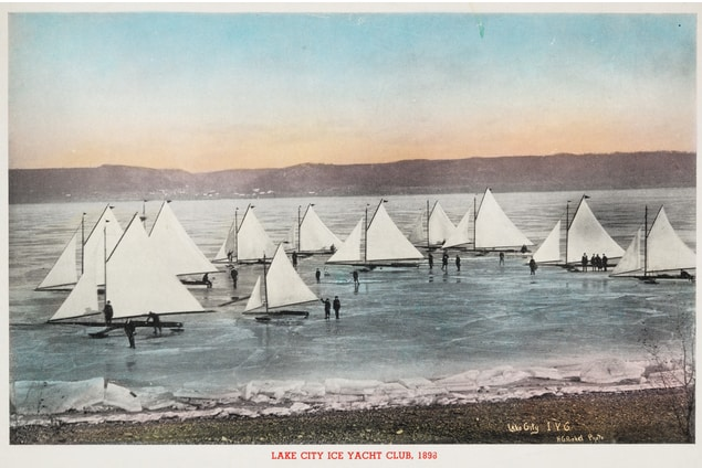 Lake Pepin Iceboating