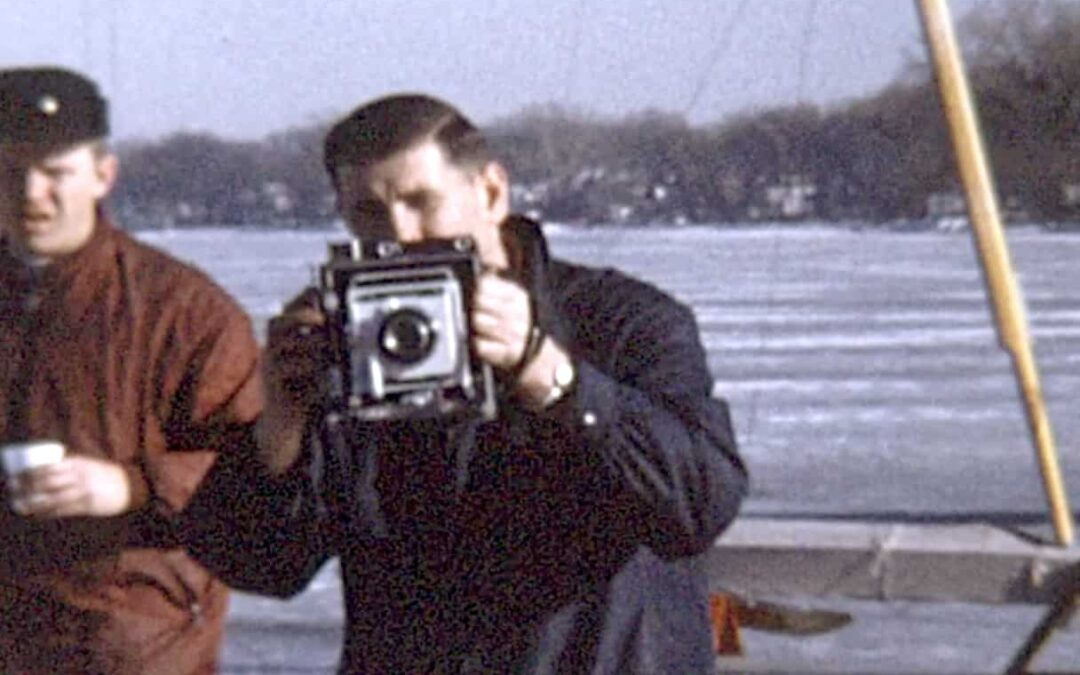 Classic Video: Pewaukee Ice Yacht Club c.1960